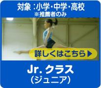 Jr.クラス(ジュニア) 対象:小学・中学・高校・大学生※推薦者のみ